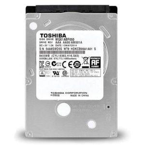 هارد دیسک لپ تاپ توشیبا