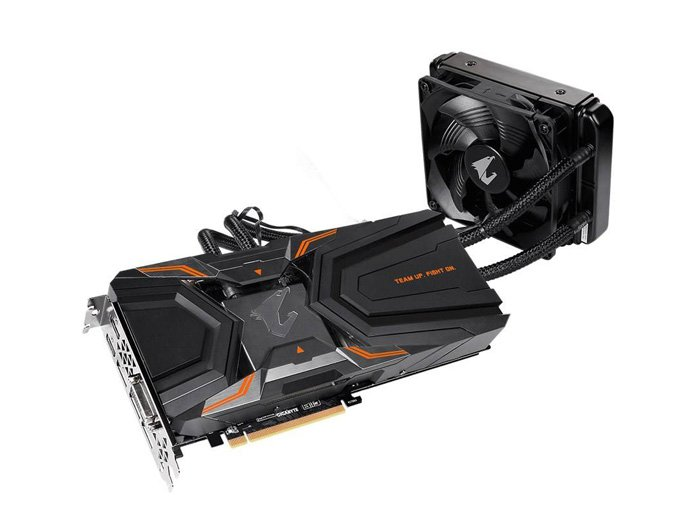 کارت گرافیک گیگابایت مدل AORUS GeForce GTX 1080 Ti Waterforce Xtreme Edition 11G Rev 1.0/1.1