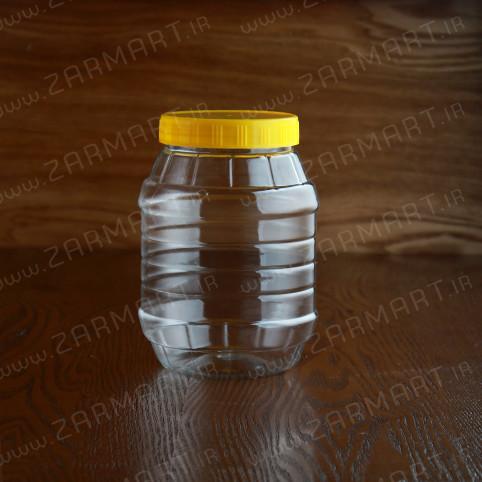 بطری پلاستیکی جار 2.5 کیلویی