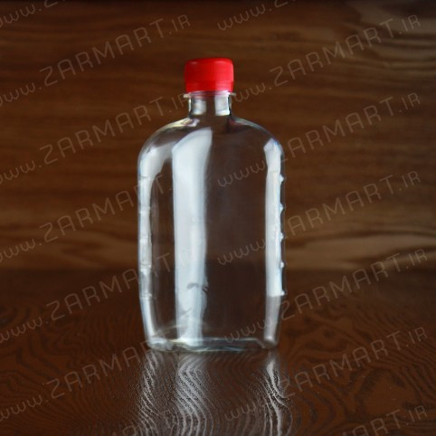 بطری پلاستیکی نیم لیتری کتابی