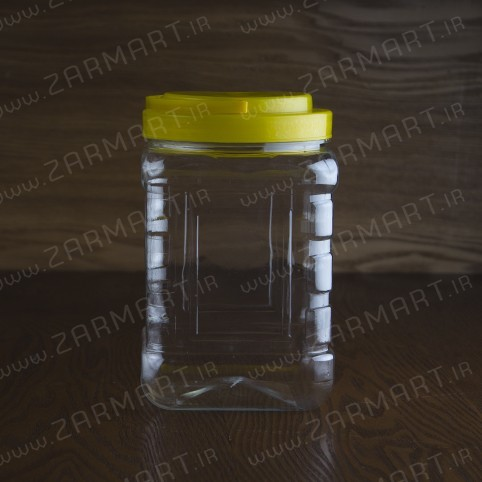 بطری پلاستیکی جار 3.5 کیلویی درب دسته دار