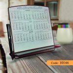 تقویم رومیزی چوب استنداپ مدل آناهید کد 10144