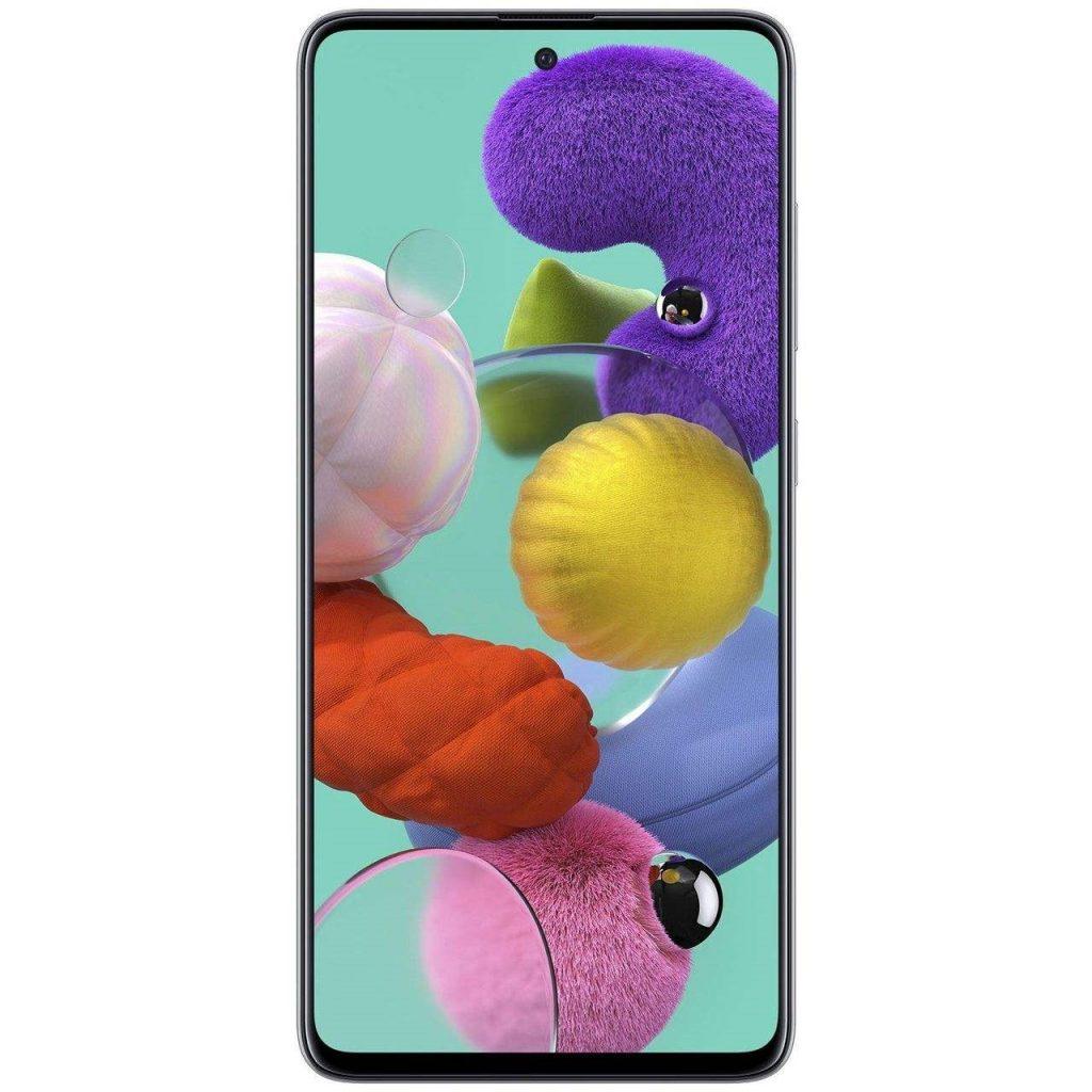 گوشی موبایل سامسونگ مدل Galaxy A51 SM-A515F/DSN دو سیم کارت ظرفیت 128گیگابایت سفید