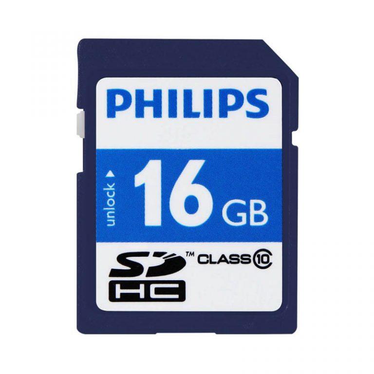 رم اس دی 16 گیگ فیلیپس مدل FM16SD45B