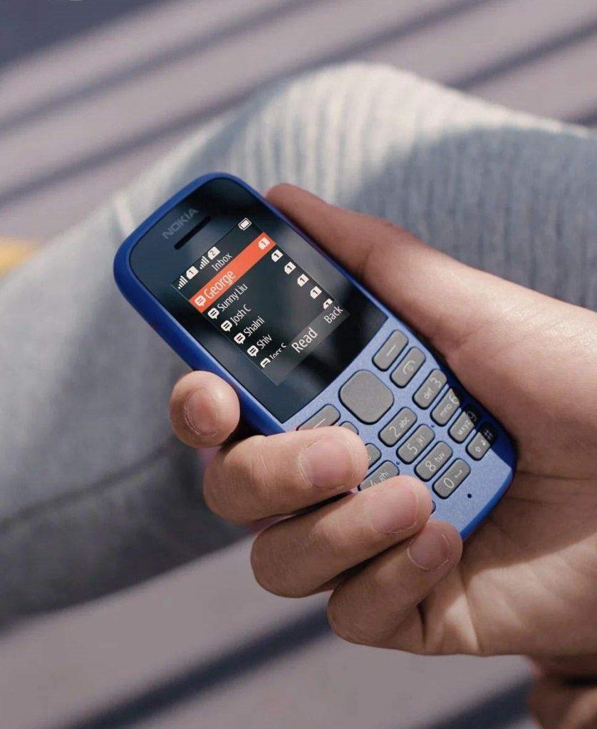 گوشی موبایل نوکیا مدل 105 – 2019 TA-1174 DS دو سیم کارت