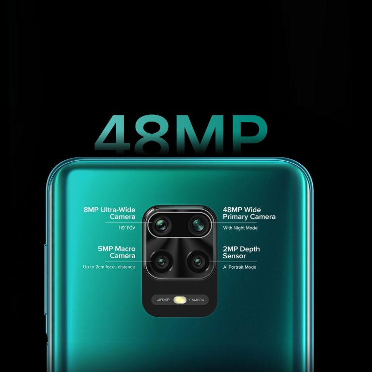 M2003J6A1Gگوشی موبایل شیائومی مدل Redmi Note 9S دو سیم کارت ظرفیت 128گیگابایت