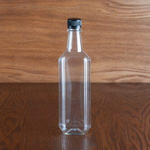 بطری پت 500 سی سی الماسی 4 ضلعی